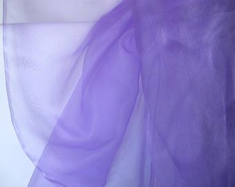 Orchid/ Lavender Organdy  1 Yard   (SM210)