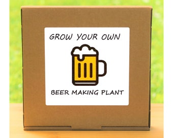 Unusual Windowsill Gardening Gift - Grow Your Own Beer Hops Plant Kit