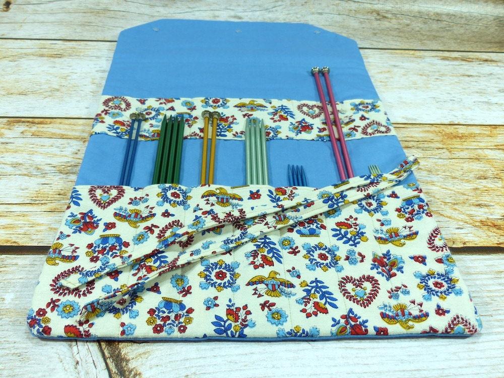 CLEARANCE Large Llayout Needle Case / Knitting Needle & Crochet Hook ...