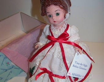 Twas the Night Before Christmas Madame Alexander 8 in doll