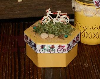 Bicycle trinket box