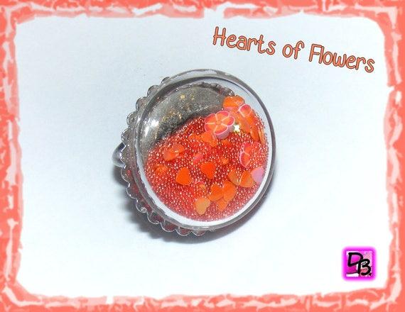 Bague globe [Hearts of Flowers]
