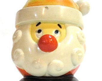 Vintage Santa Candy Container c1960s