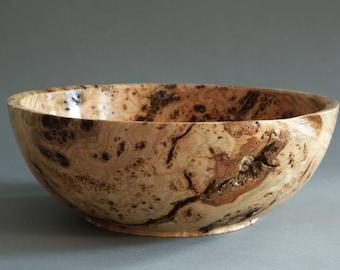 Black Ash Burl Bowl