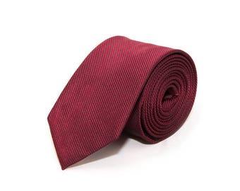 Classic tie red MORÉ de-