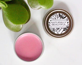 Natural Lip Tint - Lip Balm -Lip Tint - Organic - Bath & Beauty - Bridesmaid - Gift - Natural Skin Care - For Her - Valentines - Lip