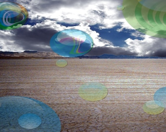 Note Cards Orbs On The Playa