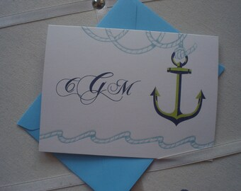 Anchors Aweigh Set of Five