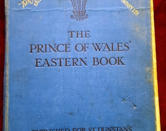 """Vintage antique """"The Prince of Wales Eastern Book"""" 1922"""