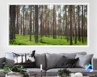 XL Art Print Poster Photo Paper forest landscape nature pines trees tropical Wall Decor (frame is not included)(N1834) FREE Shipping USA