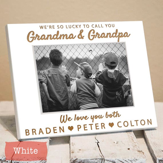 Grandparent Picture Frame Personalized - Grandparent Frame - Gifts ...