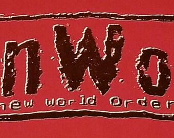 Vintage tshirt, n.W.o, New World Order