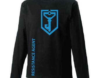 Ingress-Resistance Long Sleeves T-shirt - available in many sizes and colours