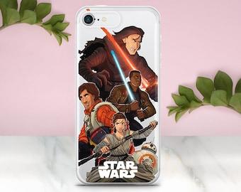 Star Wars iphone 8 Plus Case Samsung S7 edge iPhone X Case Star Wars Gift iphone Se case Samsung S8 case Galaxy S9 Case iPhone 6S Case