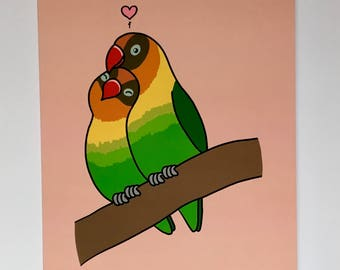 Love Bird Gift Card