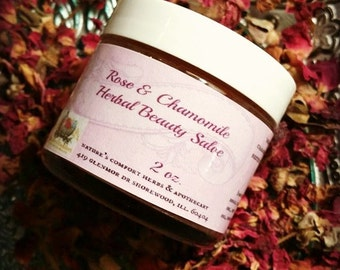 Rose and Chamomile Beauty Skin Salve