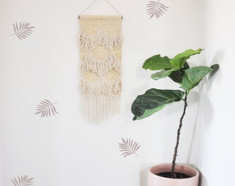 Wall Decal -Flowing Leaves- Wall Sticker - Room Decor