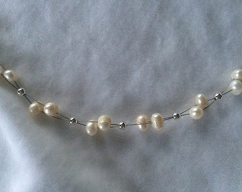 Classic Fresh-water Pearl Necklace