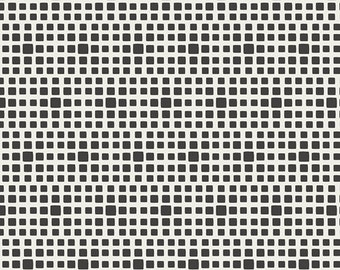 Noir (Black) Squares From Art Gallery's Squared Elements - Choose Your Cut