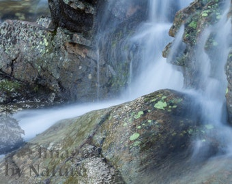 Alberta Falls, Colorado, Landscape Photographic Print