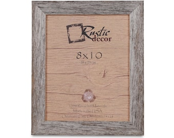 "8x10 -1.5"" wide Rustic Barn Wood Standard Photo Frame"