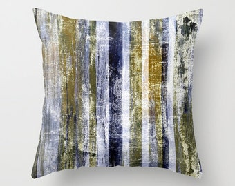 Navy Gold Throw Pillow Cover Modern Home Decor Living room bedroom accessories Cushion Cover Decorative Pillow Cover Euro Sham Cover