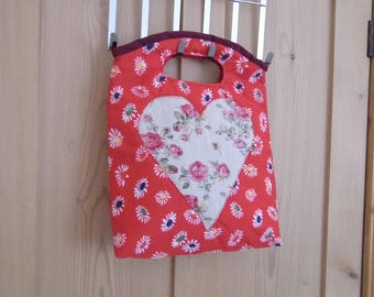 A Beautiful Handmade Bag with Applique