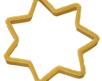 Police Badge Cookie Cutter, Highway patrol badge cookie cutter, 2 styles you pick either shield or  Multi point star