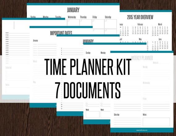 timeplanner calendars