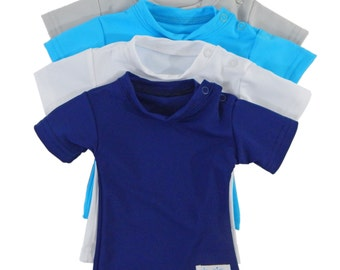 Baby Plain and Simple Sensory Compression Short Sleeve Shirt