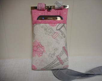 Cell Phone Wallet, Crossbody