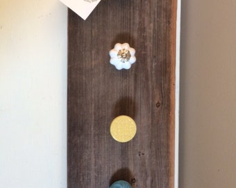 Barnwood Necklace Holder