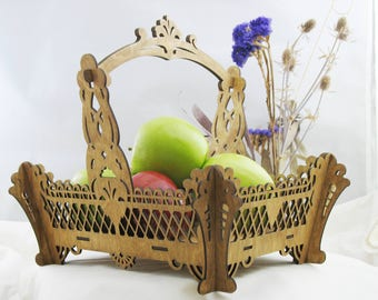 Wooden Basket Kit