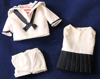 Vintage Pocket Doll Sailor Outfit