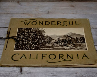 Souvenir Brochure  California