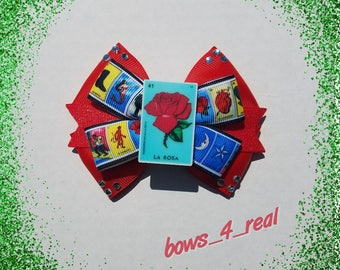 Inspired Loteria Hairbow