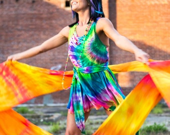 SunShine Flow Dance Silks