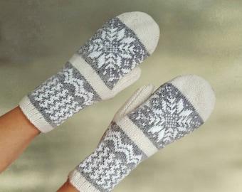 Mittens wool warm, Womens wool mittens, Merino wool mittens,Wool warm mittens, Homespun wool mitten,Wool arm warmers, Pure wool mittens