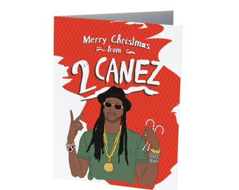 2 CANEZ |  Holiday Card  |  Funny Christmas Card