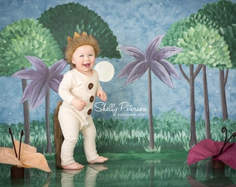 Max Romper || Where The Wild Things Are Outfit || Wild Thing Outfit || One Piece White Romper || Safari Party Costume
