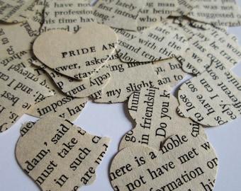 Pride and Prejudice Wedding Confetti | 1000 pcs Large Confetti pack | Table Confetti | Jane Austen