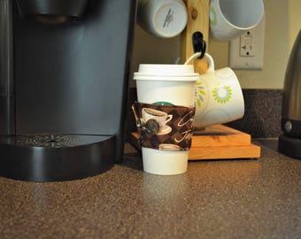 Coffee Cup Sleeve - Latte/Coffee
