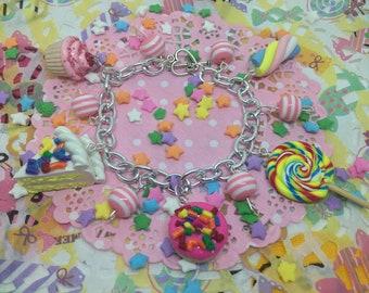 Candy-Bettelarmband