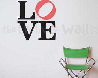 Love Quote, Love Wall Art, Love Wall Decor, Love Wall Decals, Quote Wall Art, Quote Decal, Love Home Decor, Love Quotes, Quotes Stickers,