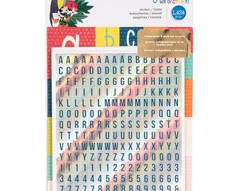Shimelle Box of Crayons Alpha Sticker Folder -- MSRP 5.00