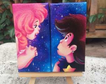 Steven universe GregRose mini canvas set