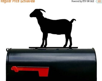 End of May 2018 Sale Goat Silhouette Mailbox Topper / Sign