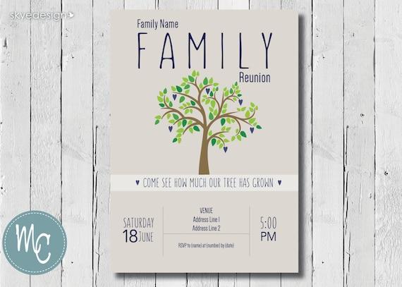 Fein Gratis Familientreffen Einladungen Bilder - Bilder für das ...