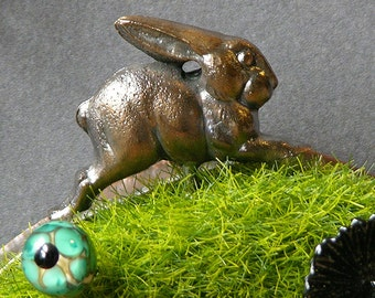 Wild Hare Diorama Necklace