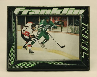 5 x 7 Hockey Stick Frame - FREE SHIPPING in US  (#3739)